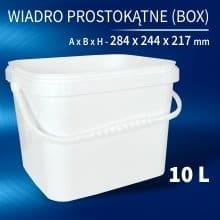 Square Bucket 10l