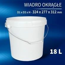 Wiadro 18l