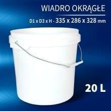 Wiadro 20l