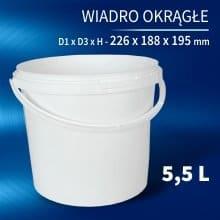Round Bucket 5l